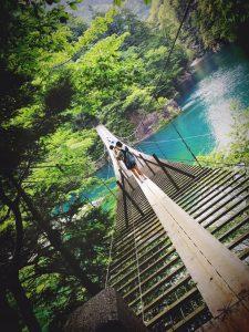 静岡県・夢の吊り橋